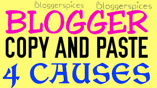 THE CAUSES OF BLOGGER COPY PASTE BEHAVIOUR