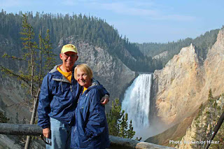 George & Betsy at Yellowstone