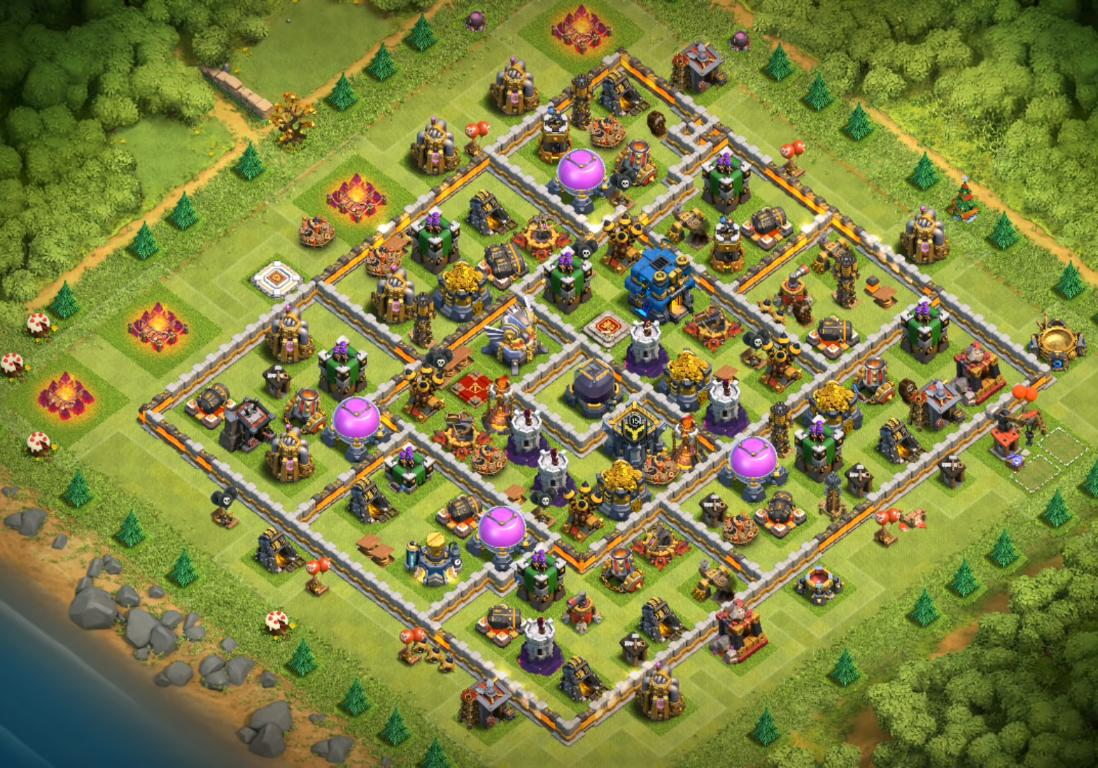 best th12 farming base