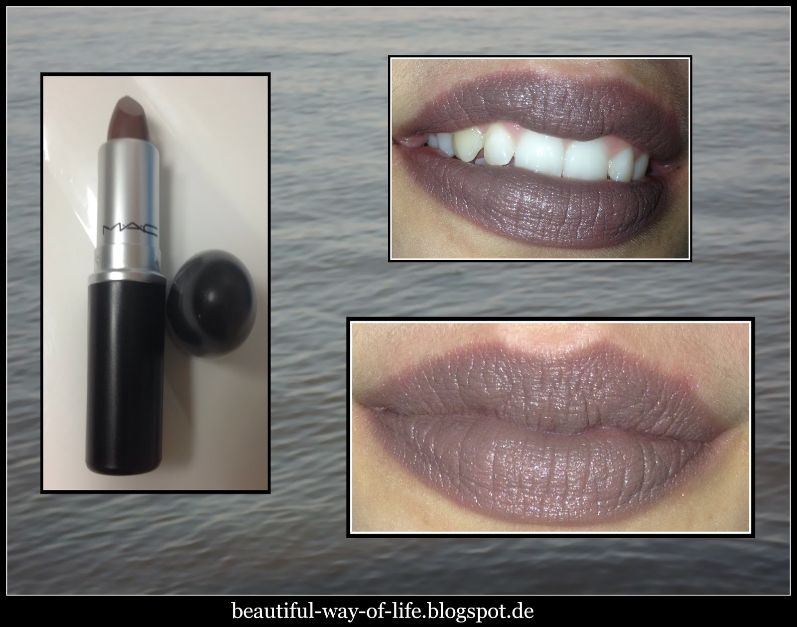 beautiful way of life neue lippenstiftliebe mac stone. Black Bedroom Furniture Sets. Home Design Ideas