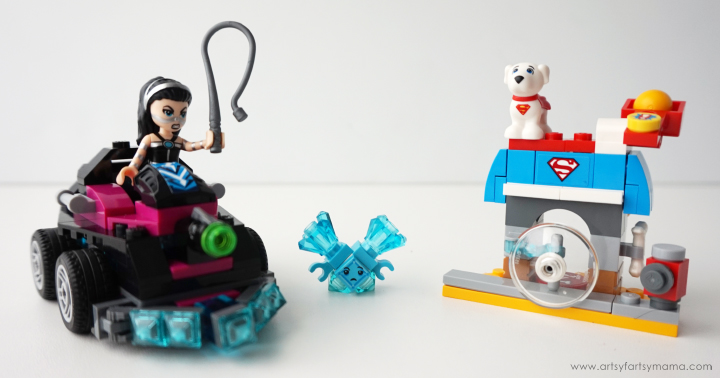 LEGO DC Superhero Girls Lashina Take and Free Printable DC Superhero Girls Bookmarks