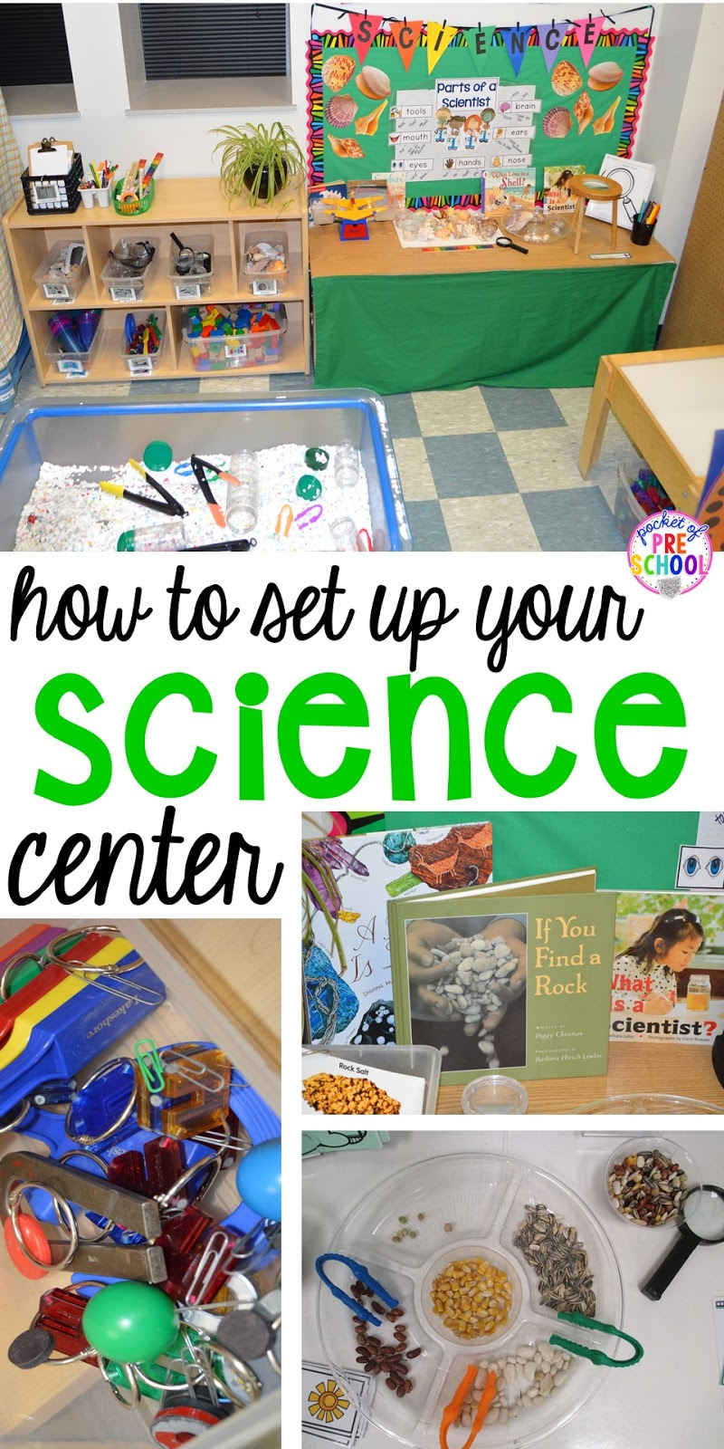 How to set up the Science Center in your Early Childhood Classroom ...