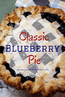 A Classic Blueberry Pie for Summer