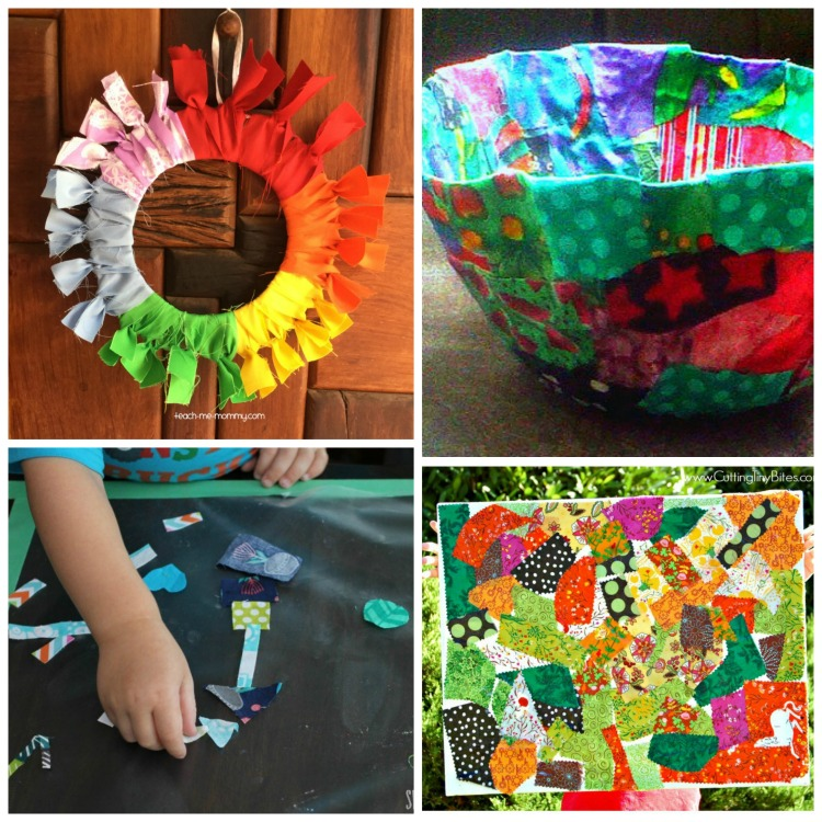 Fabric Scrap Crafts And Activities For Kids What Can We Do With