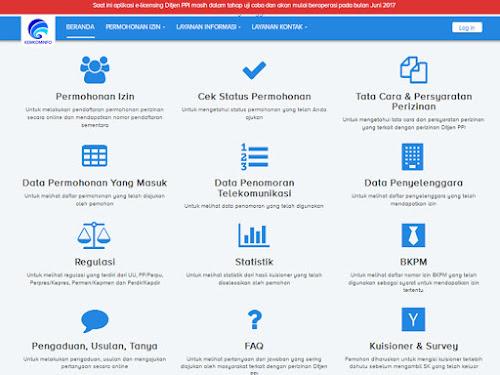 Website Pelayanan Prima Kemkominfo