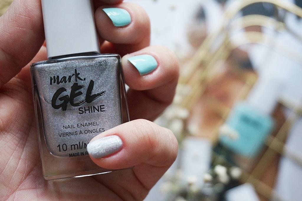 Avon Mark Gel Shine Sparkle Lens lakier paznokcie manicure