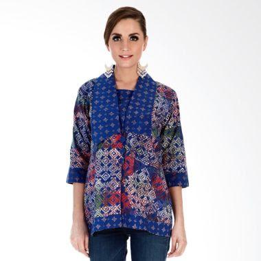 Contoh Model Baju Batik Kerja Wanita Modis Terbaru