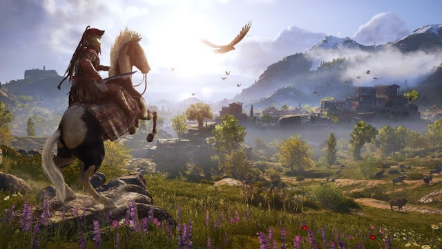 يوبيسوفت تكشف رسميا عن الوجه الثاني لغلاف لعبة Assassin's Creed Odyssey ، لنشاهد من هنا ..