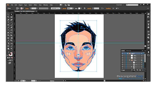 Adobe Illustrator CC 2017 Dibuja imágenes vectoriales