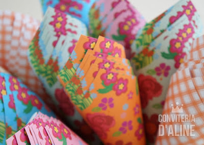 festa junina cone chitao decoracao lembranca