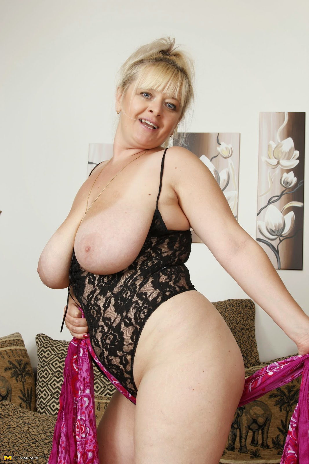 All not Beautiful big breasted mature women