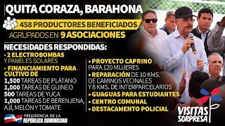 VIDEO: Quita Coraza, Barahona. Pa llevarle comida a los capitaleños