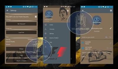 BBM Mod Formula 1 Versi 2.12.0.9 Apk Terbaru 2016