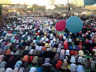 مواقيت صلاة عيد الفطر 2017 في جميع المحافظات