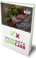 Imagem da capa do e-book Guia da Receita Low Carb