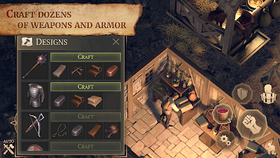 Grim Soul Dark Fantasy Survival v1.5.2 Apk MOD [Free Craft]