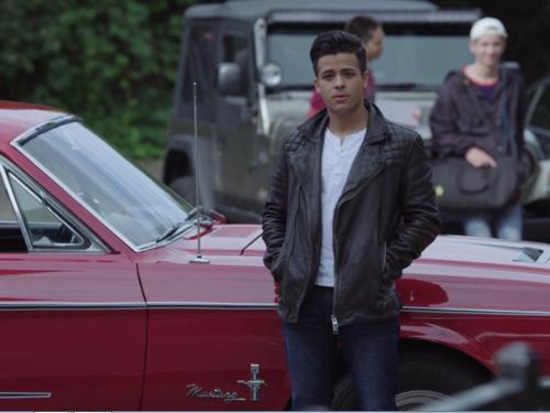 Escena con Christian Navarro (Tony) en 'Por trece razones'