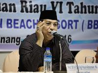 Prof.Said Agil Al Munawar; LPTQ Sangat Berperan Dalam Peningkatan Kualitas MTQ