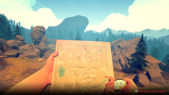 Firewatch Game Screenshot Gameplay 1