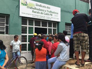 Tumulto na Sede do Sindicato de Trabalhadores Rurais de Cuité