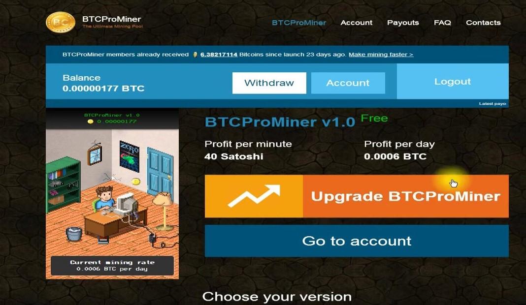 bitcoin: Bitcoin earning site