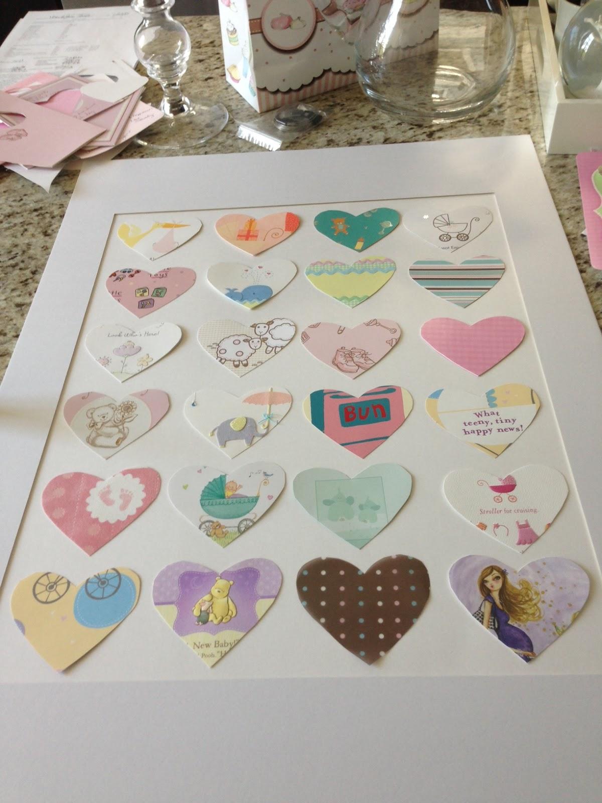 DIY Transform Your Baby Shower Cards Into Nursery Art