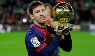 Messi win Ballon d'Or