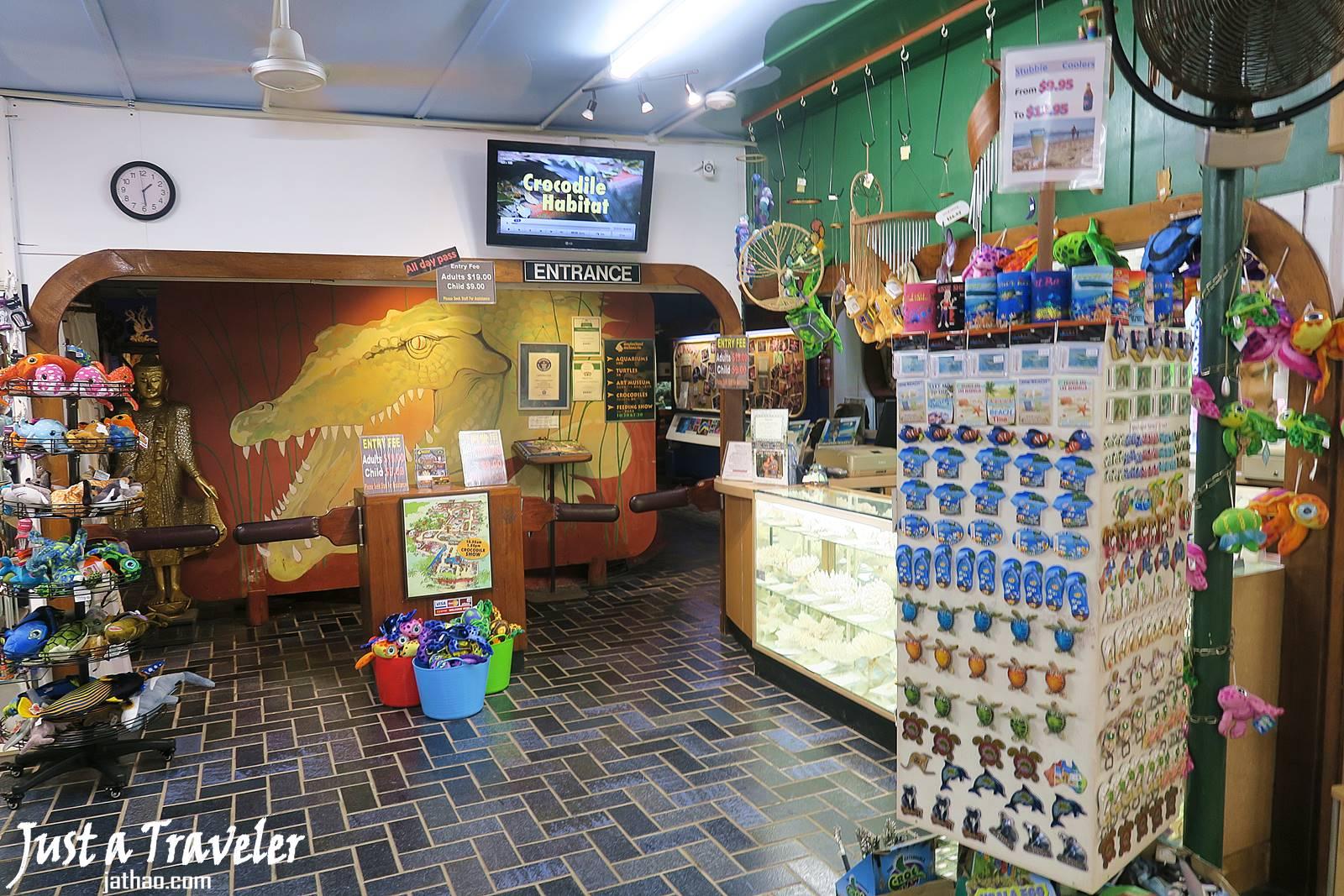 凱恩斯-大堡礁-綠島-內堡礁-鱷魚館-推薦-旅遊-自由行-澳洲-Carins-Great-Barrier-Reef-Green-Island-Marineland-Melanesia-Travel-Australia