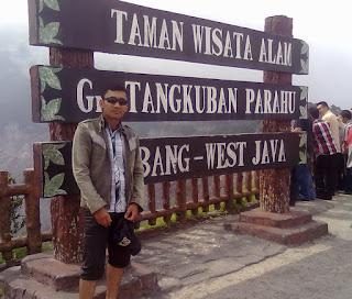 liburan ke Bandung dan Gunung Tangkuban Parahu