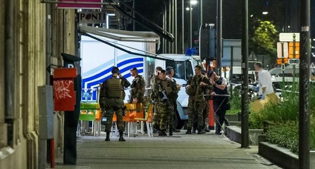 """تنظيم """"داعش"""" يعلن مسؤوليته عن حادث الطعن في بروكسل"""