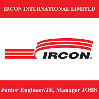 Ircon International Limited, IRCON,JE, Junior Engineer, Manager, Graduation, freejobalert, Sarkari Naukri, Latest Jobs, new dlehi, ircon logo
