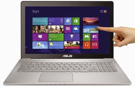ASUS N550JK-DS71T Touchscreen