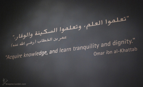 Acquire knowledge, and learn tranquility and dignity - Religions Quotes