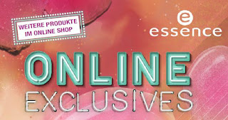 Preview: essence - Online Shop Launch + Online Exclusives Produkte - www.annitschkasblog.de