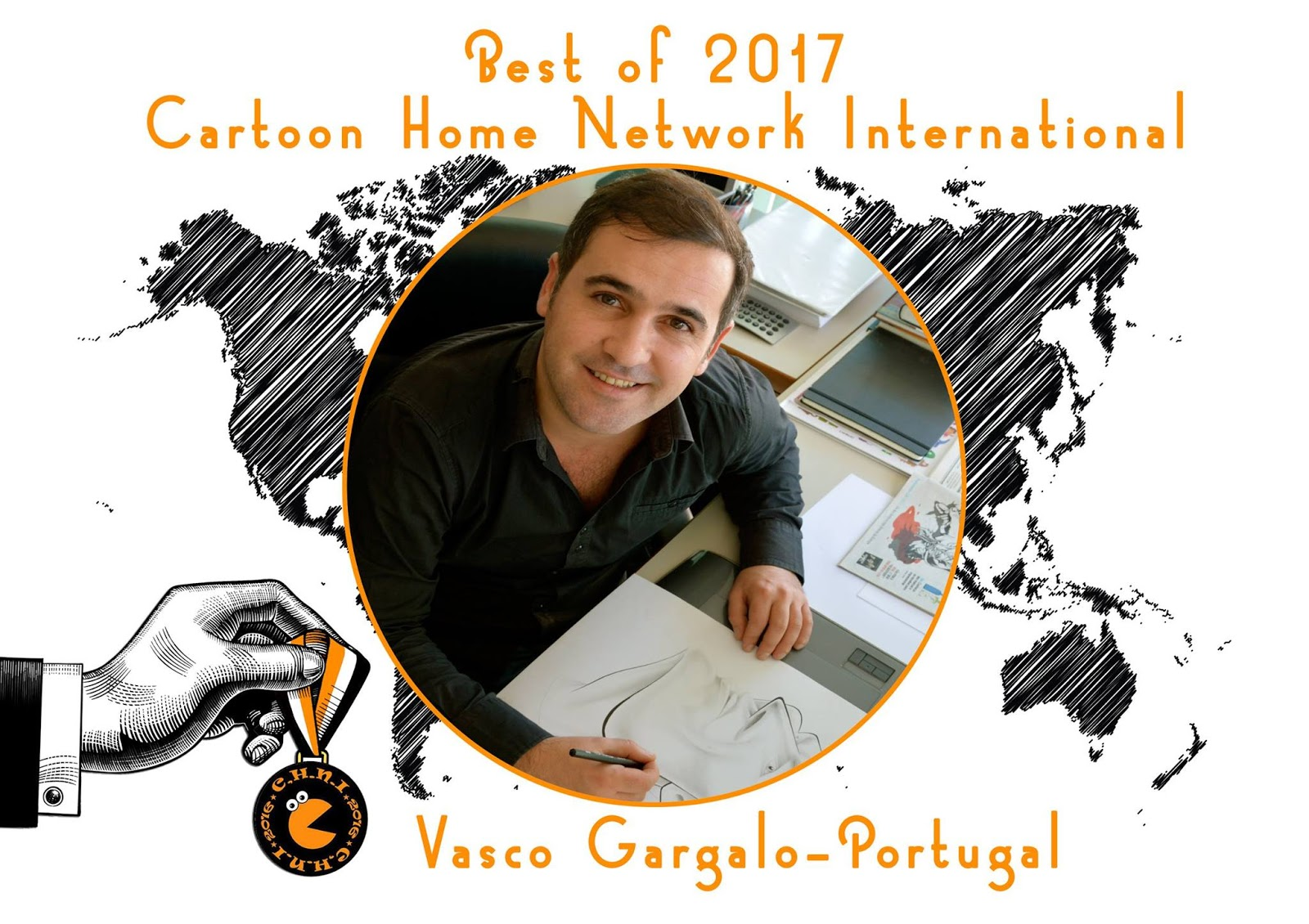 Gold Pencil_Best of 2017 Cartoon Home Network International