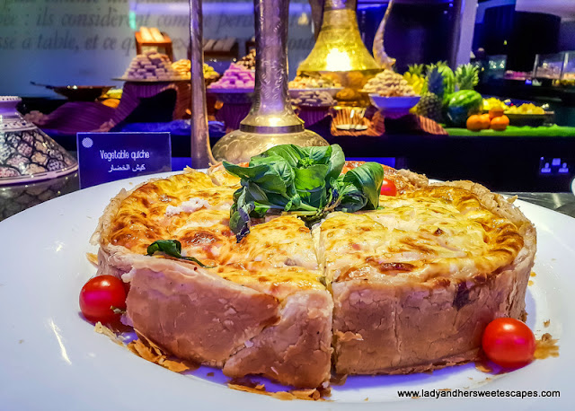 vegetarian options at Pullman Dubai Creek city centre iftar