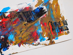 how to create abstract art with kids