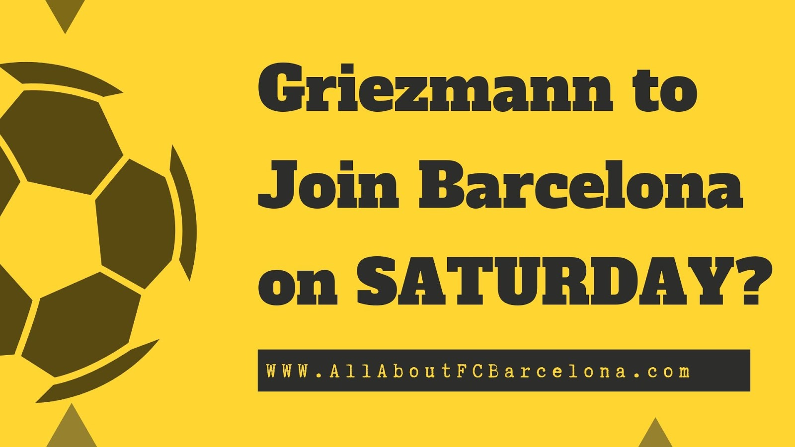 Antoine Griezmann to Complete Signing with Barcelona by Saturday?
