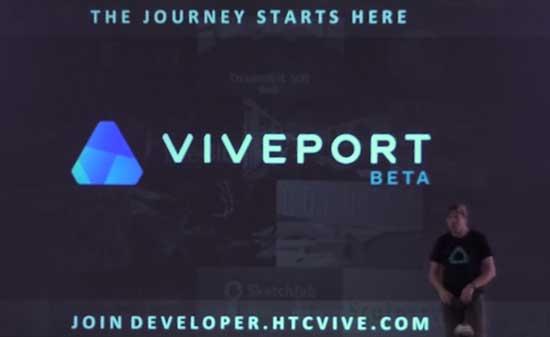 2016 Viveport VR App Store beta resmi diluncurkan oleh HTC