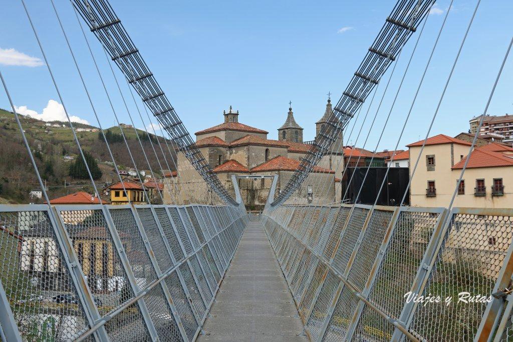 Puente colgante de Cangas del Narcea