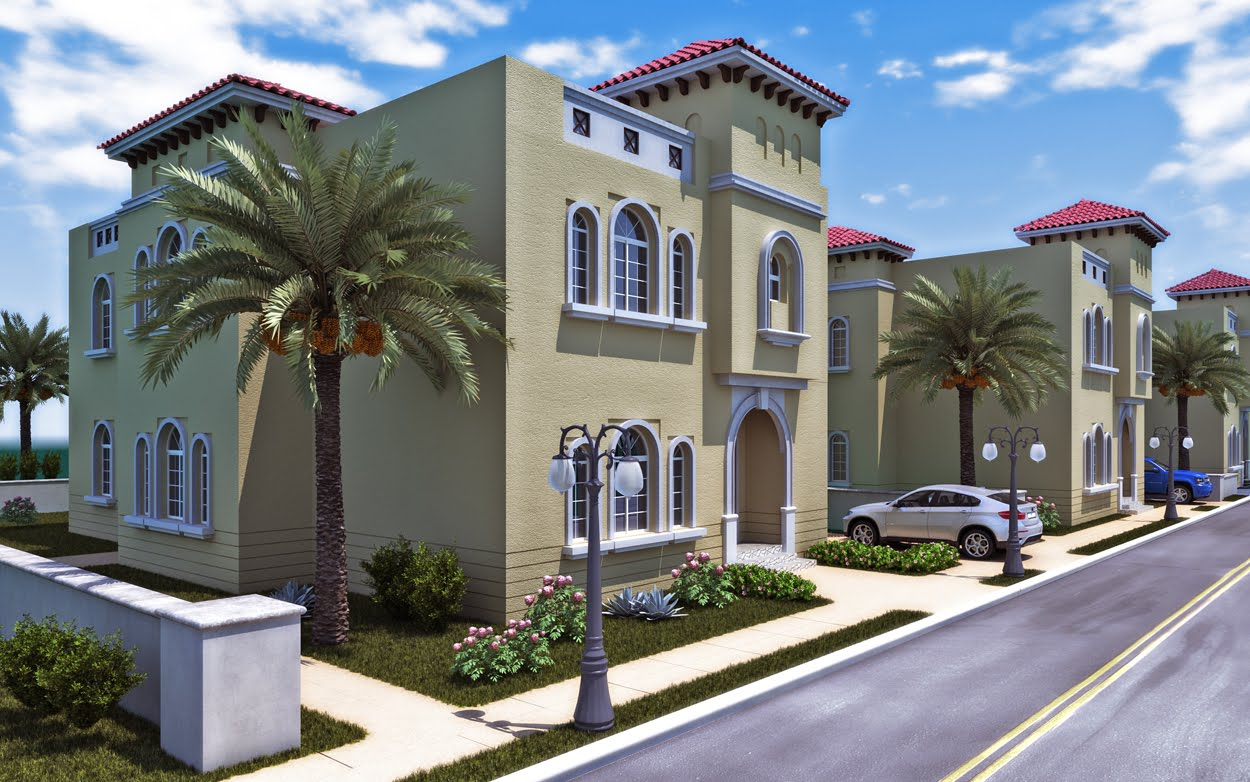 Imagination 3D Blog: Spanish house style in Middle east  Imagination 3D ...