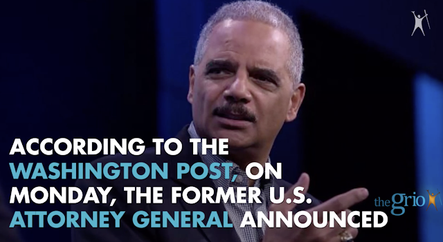 Eric Holder confirms he will not run for president in 2020
