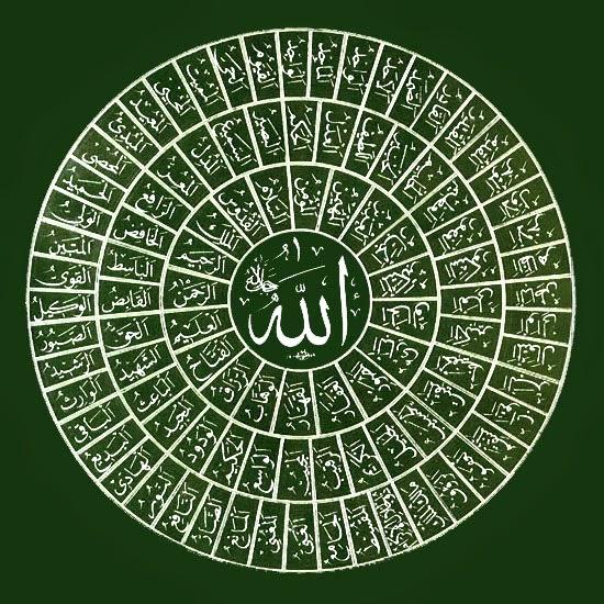 99 Asmaul Husna dan Artinya