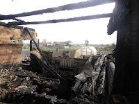Причиной пожара короткое замыкание электропроводки