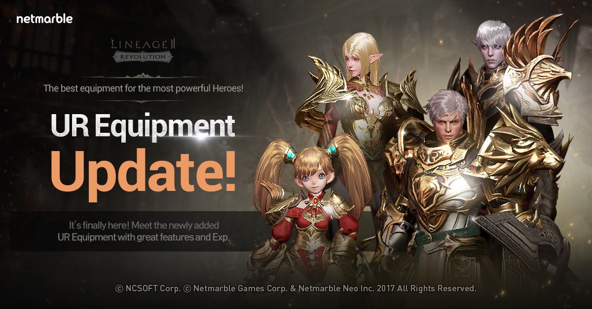 Mobile MMORPG Lineage2 Revolution Receives Major Update