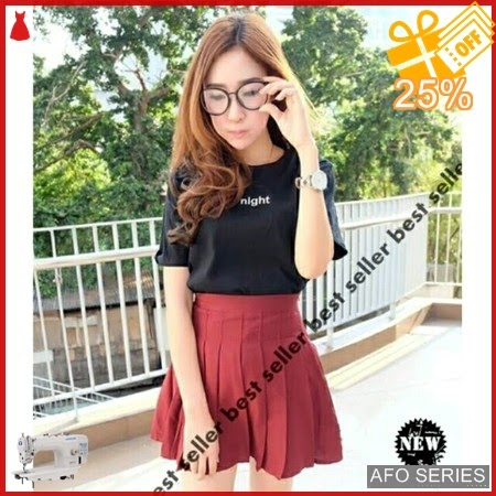 AFO657 Model Fashion Oneck Night tee Modis Murah BMGShop