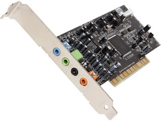 Sound Card Karttu Komputer PC Motherboard