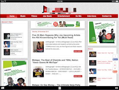 ogbongeblog template demo
