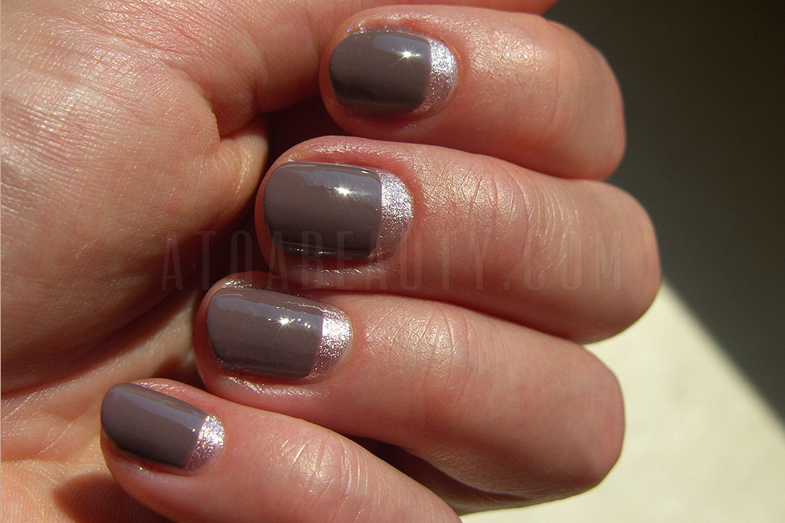 Sally Hansen Complete Salon Manicure Commander In Chic + Top Shop Twilight Tease