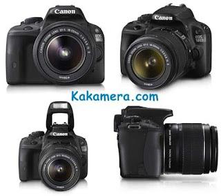 Spesifikasi Dan Harga Kamera Canon 100d